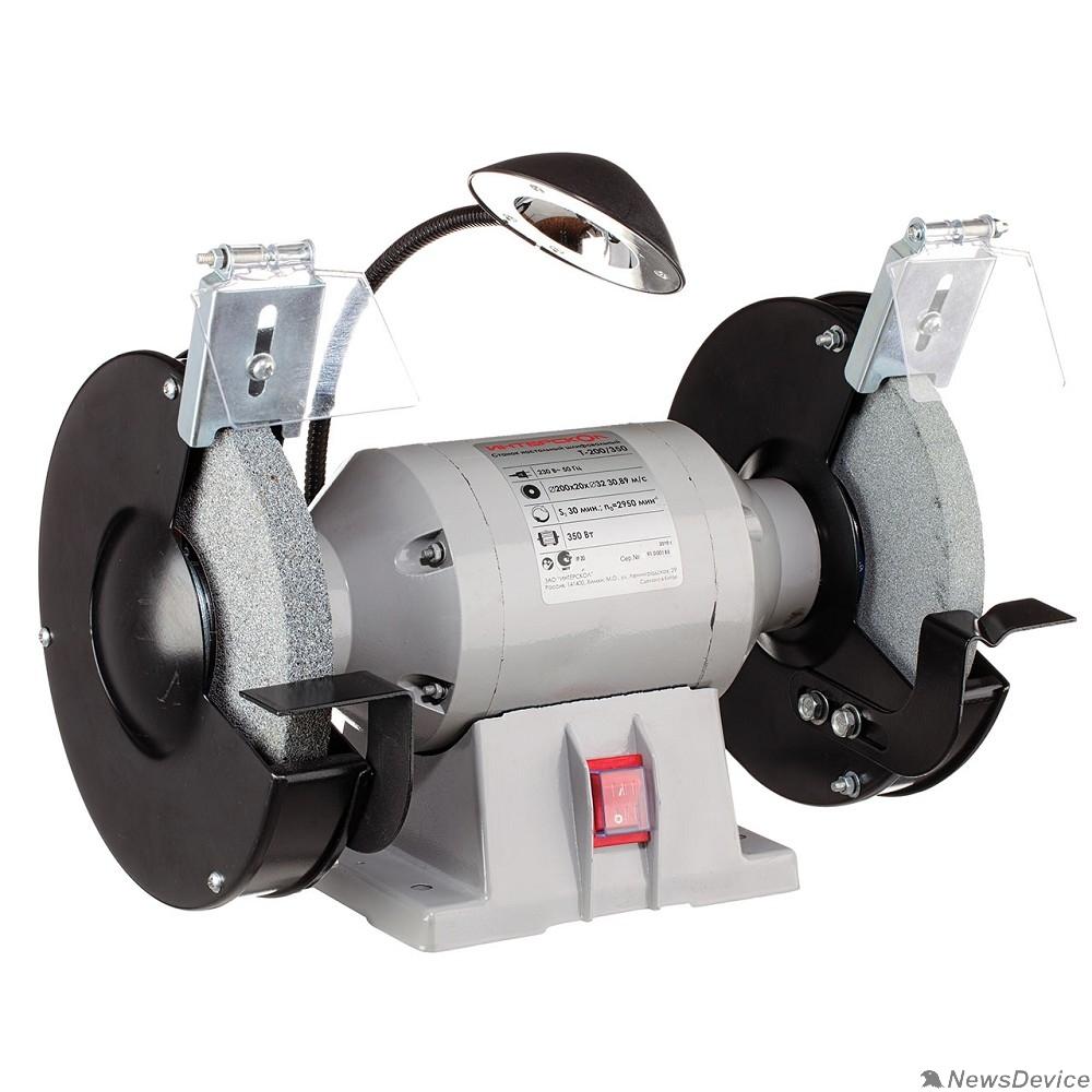 Заточные (точило) ИНТЕРСКОЛ  Т-200/350 электроточило с подсветкой 592.1.0.00