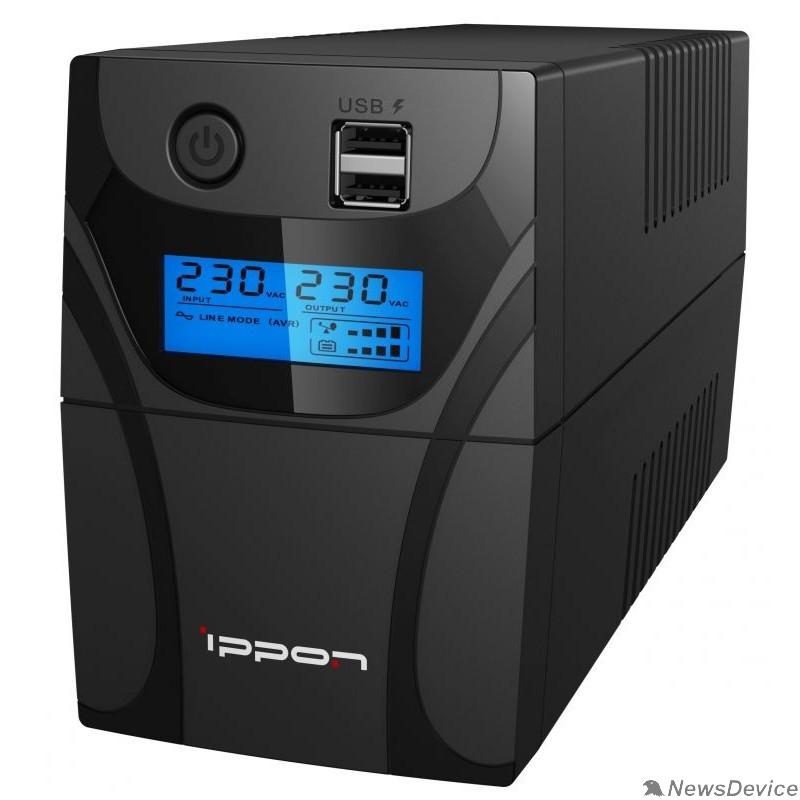 ИБП Ippon Back Power Pro II 400 black 1030291