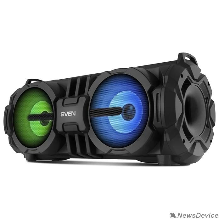 Колонки SVEN PS-485,  черный  (28  Вт,  Bluetooth,  FM,  USB,  microSD,