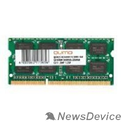 Модуль памяти QUMO DDR3 SODIMM 4GB QUM3S-4G1600K11(R) PC3-12800, 1600MHz