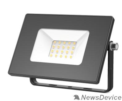 GAUSS Прожекторы светодиодные GAUSS 613527120 Прожектор светодиодный LED 20W 1300lm IP65 3000К черный 1/60