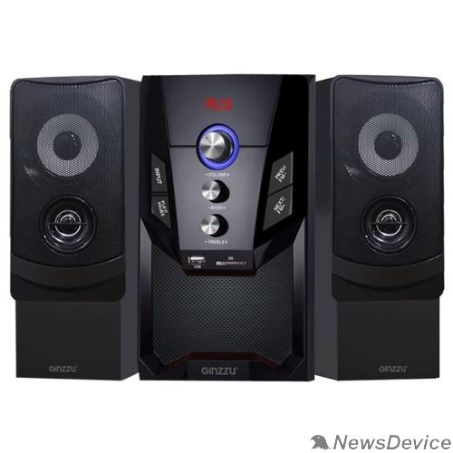 Колонки Ginzzu Ginzzu GM-415, Акустическая система 2.1, 50W/BT/USB/SD/FM/ДУ
