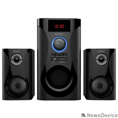 Колонки Ginzzu Ginzzu GM-425, Акустическая система 2.1, 60W/BT/USB/SD/FM/ДУ