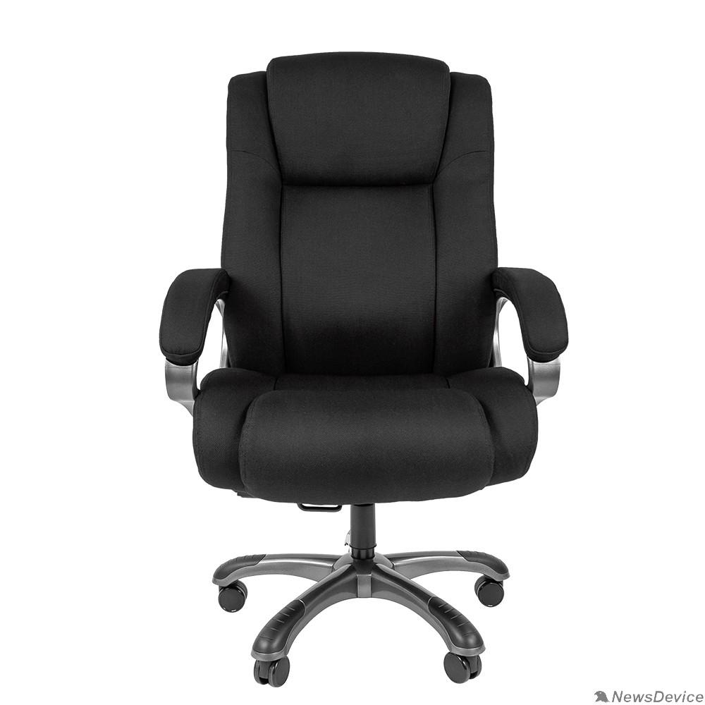 Офисные кресла Офисное кресло Chairman 410 Россия ткань SX черная (7025870)