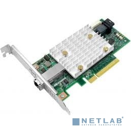 Контроллер Adaptec SmartHBA 2100-4i4e (2292200-R) 4 internal ports, 4 external ports,PCIe Gen3 ,x8,,RAID 0/1/10/5,,FlexConfig