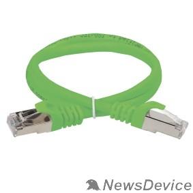Патч-корды, Патч-панели ITK PC02-C5EF-05M Коммутационный шнур (патч-корд), кат.5Е FTP, 0,5м, зеленый