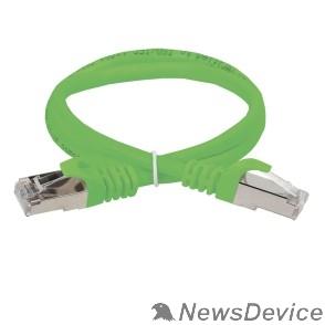 Патч-корды, Патч-панели ITK PC02-C5EF-1M Коммутационный шнур (патч-корд), кат.5Е FTP, 1м, зеленый