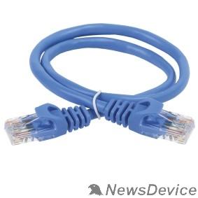 Патч-корды, Патч-панели ITK PC03-C5EU-2M Коммутационный шнур (патч-корд), кат.5Е UTP, 2м, синий