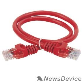 Патч-корды, Патч-панели ITK PC04-C5EU-3M Коммутационный шнур (патч-корд), кат.5Е UTP, 3м, красный