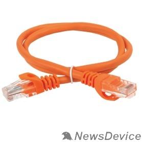 Патч-корды, Патч-панели ITK PC07-C5EU-3M Коммутационный шнур (патч-корд), кат.5Е UTP, 3м, оранжевый