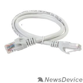 Патч-корды, Патч-панели ITK PC01-C5EUL-5M Коммутационный шнур (патч-корд), кат.5Е UTP, LSZH, 5м, серый
