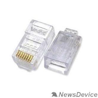 Разъемы, коннекторы ITK CS3-1C5EU Разъём RJ-45 UTP для кабеля кат.5Е