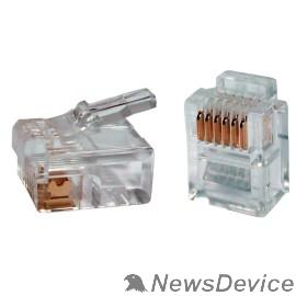 Патч-корды, Патч-панели ITK CS3-2C3U Разъём RJ12 UTP для кабеля кат.3, 6P4C