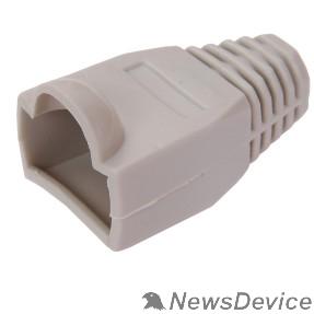 Разъемы, коннекторы ITK CS4-11 Колпачок изолирующий для разъема RJ-45, PVC, СЕРЫЙ
