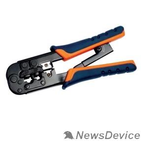 Патч-корды, Патч-панели ITK TM1-B11H Инструмент обжим для RJ-45,12,11 с  x рап. ме x . сине-оранж