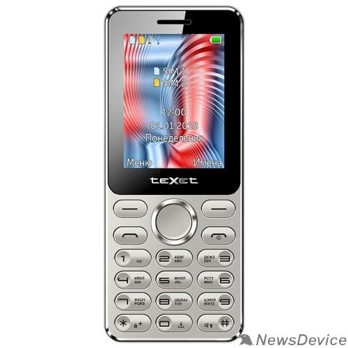 Мобильный телефон TEXET TM-212 мобильный телефон цвет серый