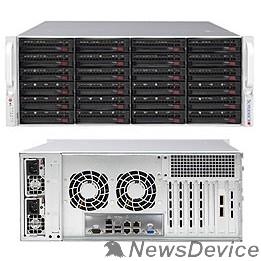 "Сервер Supermicro SUPERSTORAGE SSG-6049P-E1CR24L 4U / 2xXeon SP / 16xDDR4 ECC REG 2666/ 24x3.5"" HDD SAS/SATA / 2x10GBe LAN/2x1200Wt RPS"
