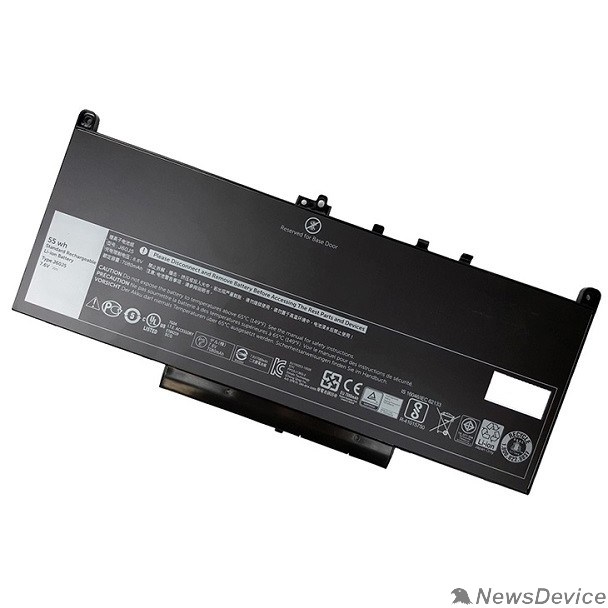 Опции к ноутбукам DELL 451-BBSY Battery Primary 4-cell 55W/HR (Latitude E7470/E7270)