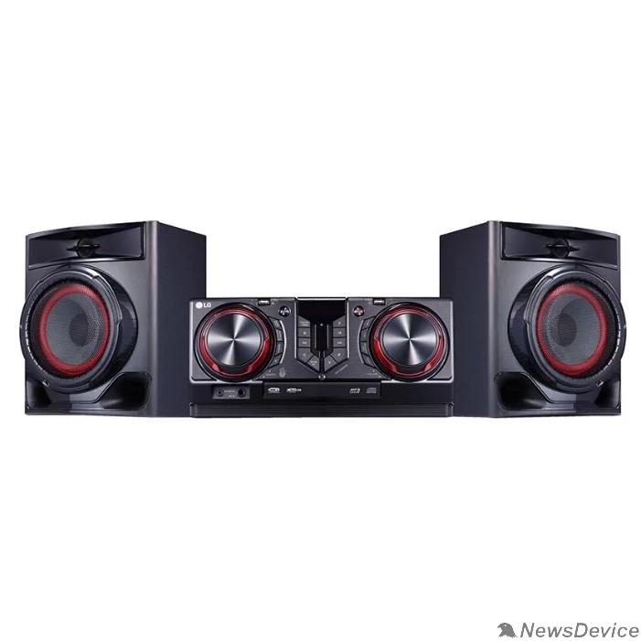 Музыкальный центр LG CJ44 черный 720Вт/CD/CDRW/FM/USB/BT