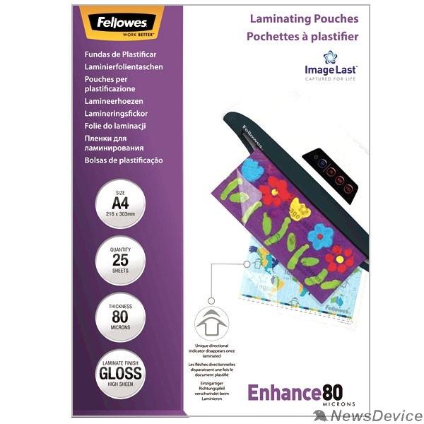 Пленка Fellowes Пленка для ламинирования FS-53962 (А4, 80 мкм, 25 шт.)