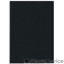 Расходные материалы Fellowes Обложки для переплета Delta FS-53738 (A4, черный, 25 шт., тиснение под кожу)