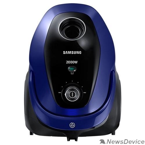 Пылесос Samsung VC20M251AWB Пылесос, мешок/циклонный фильтр, 2000 Вт, синий