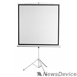 "Экран Digis Kontur-D DSKD-1106 Экран на штативе, формат 1:1, 112"", 206x209, рабочая поверхность 200x200, MW"