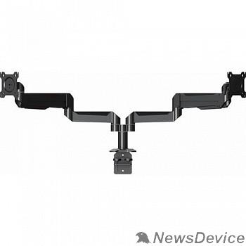"""Крепления для проекторов Wize DSA22P Настольное креплениедля двух дисплеев 10""""- 32""""  VESA 75x75, 100x100 мм, нагрузка на один дисплей 11 кг, наклон +15°/-5°, поворот 90/30°,черн."""
