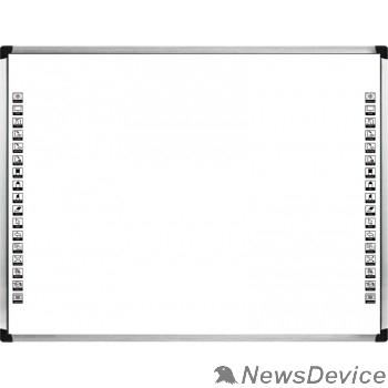 """Интерактивная доска ScreenMedia SM-8283 Многопользовательская сенсорная интерактивная доска 80"""" (4*3), разрешение 32768х32768, multi-touch 10 точек замена SR-8083"""