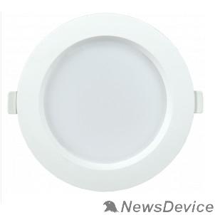 Коммерческое освещение Iek LDVO0-1701-09-3000-K01 Светильник LED ДВО 1701 белый круг 9Вт 3000K IP40 пластик. корпус, диам 126 мм