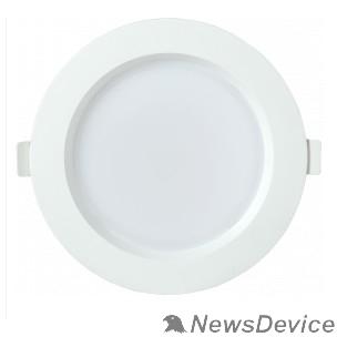 Коммерческое освещение Iek LDVO0-1702-12-3000-K01 Светильник LED ДВО 1702 белый круг 12Вт 3000K IP40 пластик. корпус, диам 145 мм