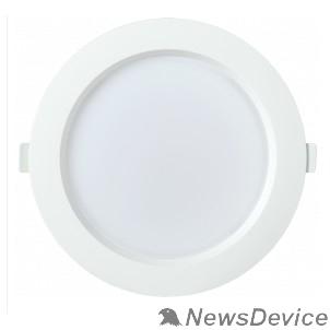 Коммерческое освещение Iek LDVO0-1703-18-4000-K01 Светильник LED ДВО 1703 белый круг 18Вт 4000K IP40 пластик. корпус, диам 192 мм