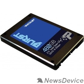 носитель информации Patriot SSD 480Gb Burst PBU480GS25SSDR SATA 3.0