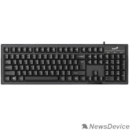 Клавиатура Клавиатура Genius Smart KB-102 Black классическая раскладная, SmartGenius, влагоустойчивая, клавиш 105, провод 1,5 м, USB 31300007402/31300007414