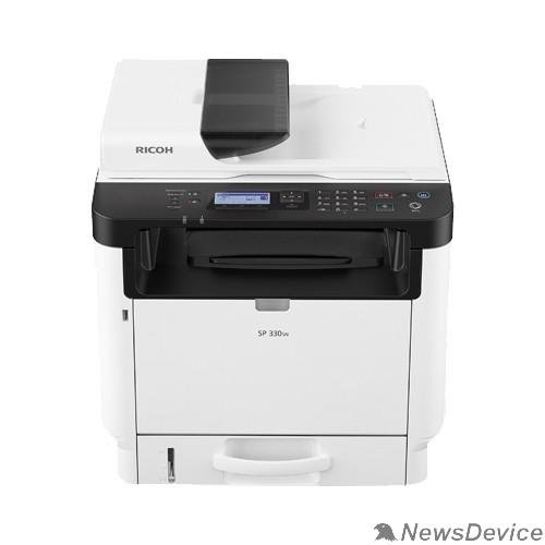 Принтер Ricoh SP 330SN МФУ, A4, 256Мб, 32стр/мин, дуплекс, ADF35, LCD-экран, PS,  LAN, старт.картр.1000стр.(408274)