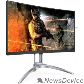 "Монитор LCD AOC 27"" AGON AG273QCX Black VA Curved FreeSync2 HDR400 2560x1440@144Hz 1ms 178/178 400cd 3000:1 85%NTSC Frameless D-sub HDMIx2 DisplayPortx2 USB3.0x4 AudioOut 5Wx2 DTS"