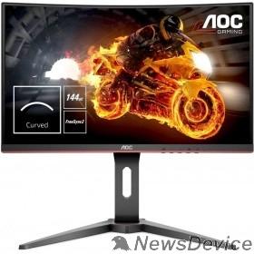 """Монитор LCD AOC 27"""" C27G1 черный/красный  VA Curved FreeSync 1920x1080@144Hz 1ms 178/178 250cd 3000:1 Frameless D-sub HDMIx2 DisplayPort1.2 AudioOut"""