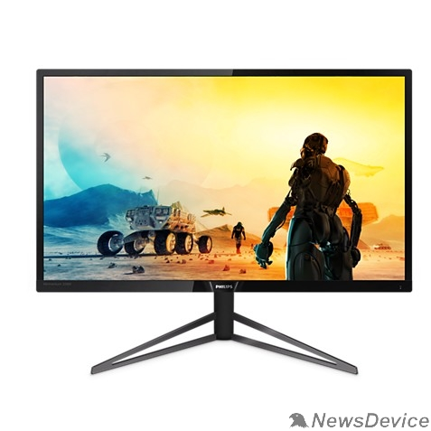 """Монитор LCD PHILIPS 31.5"""" 326M6VJRMB (00/01) черный MVA LED 3840x2160@60Hz 4ms 16:9 178°/178° 250cd 3000:1 HDMIx3 USBhub Displayport audioout"""