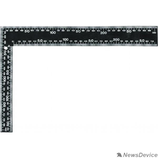 Уровни, рулетки, мерные ленты, линейки, угольники FIT IT Угольник столярный цельно-металлический крашеная шкала 400 x 600 мм  19624