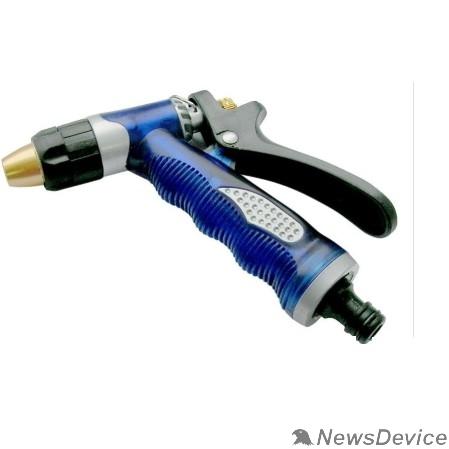 Опрыскиватели FIT HQ Пистолет для полива регулируемый, синий Профи 155 мм 77301