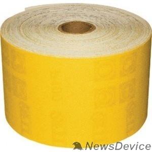 Шлифовальная бумага, лента, круги FIT IT Шкурка наждачная в рулоне, на бумажной основе, алюминий-оксидная, 115 мм х 50 м, Р 120 38056