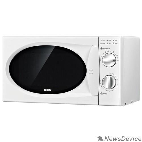 Микроволновые печи BBK BBK 20MWS-715M/W Микроволновая печь, 700 Вт, 20 л, белый