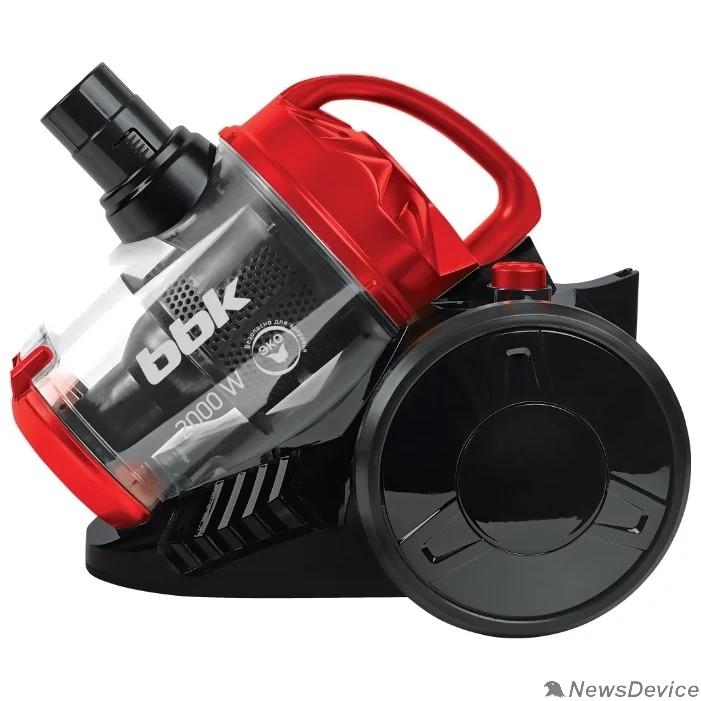 Пылесосы BBK BV1503 (B/R) Пылесос,  Потребляемая мощность (Вт) 2000; Мощность всасывания (Вт) 320; Тип пылесборника циклонный фильтры; черный/красный