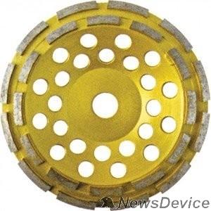 Шлифовальная бумага, лента, круги FIT IT Диск алмазный шлифовальный, посадочный диаметр 22,2 мм, сегментный, двойной ряд 125 мм 39517