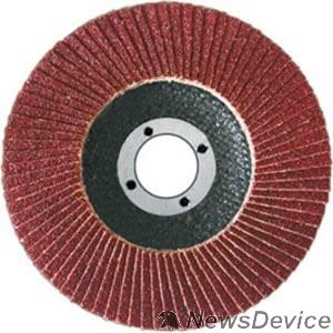Шлифовальная бумага, лента, круги FIT IT Круг лепестковый торцевой, 125 мм  Р 80 39554