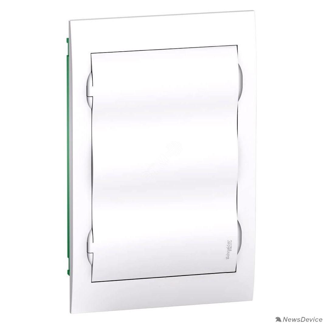 SE Щиты распределительные Schneider-electric EZ9E312P2FRU Щит распределительный встраиваемый белый дверь белая на 36 модулей IP40 Easy9