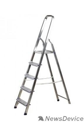 Лестницы, стремянки FIT РОС Лестница-стремянка алюминиевая, 5 ступеней, вес 3,6 кг 65343