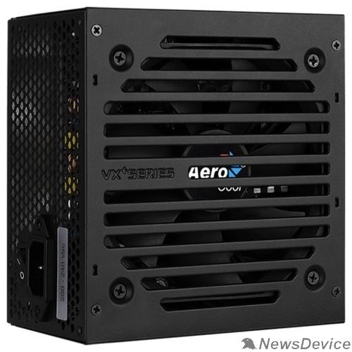 Блок питания Aerocool 750W VX-750 PLUS  (24+4+4pin) 120mm fan 3xSATA RTL