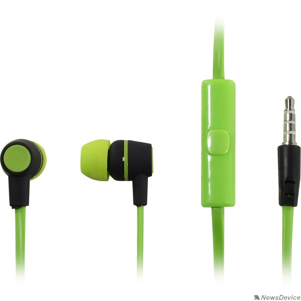 Наушники HARPER HV-107 green Чувствительность: 105dB±3dB; Сопротивление: 32?; Частотный диапазон: 20-20000Hz; Длина кабеля: 1.2m