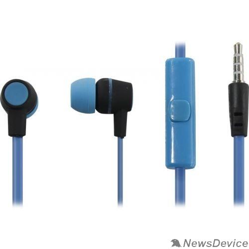 Наушники HARPER HV-107 blue Чувствительность: 105dB±3dB; Сопротивление: 32?; Частотный диапазон: 20-20000Hz; Длина кабеля: 1.2m